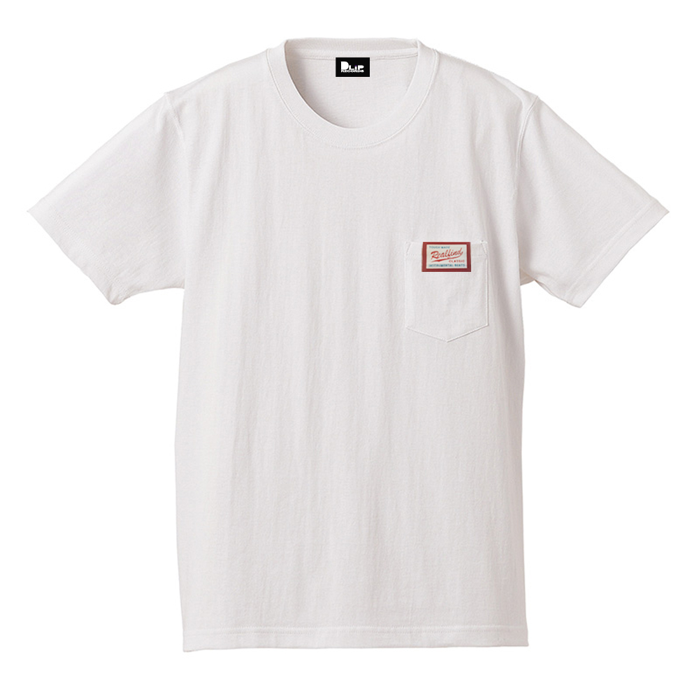 NAGMATIC / REAL FIND vol.3 ORIGINAL TAG POCKET TEE -white-