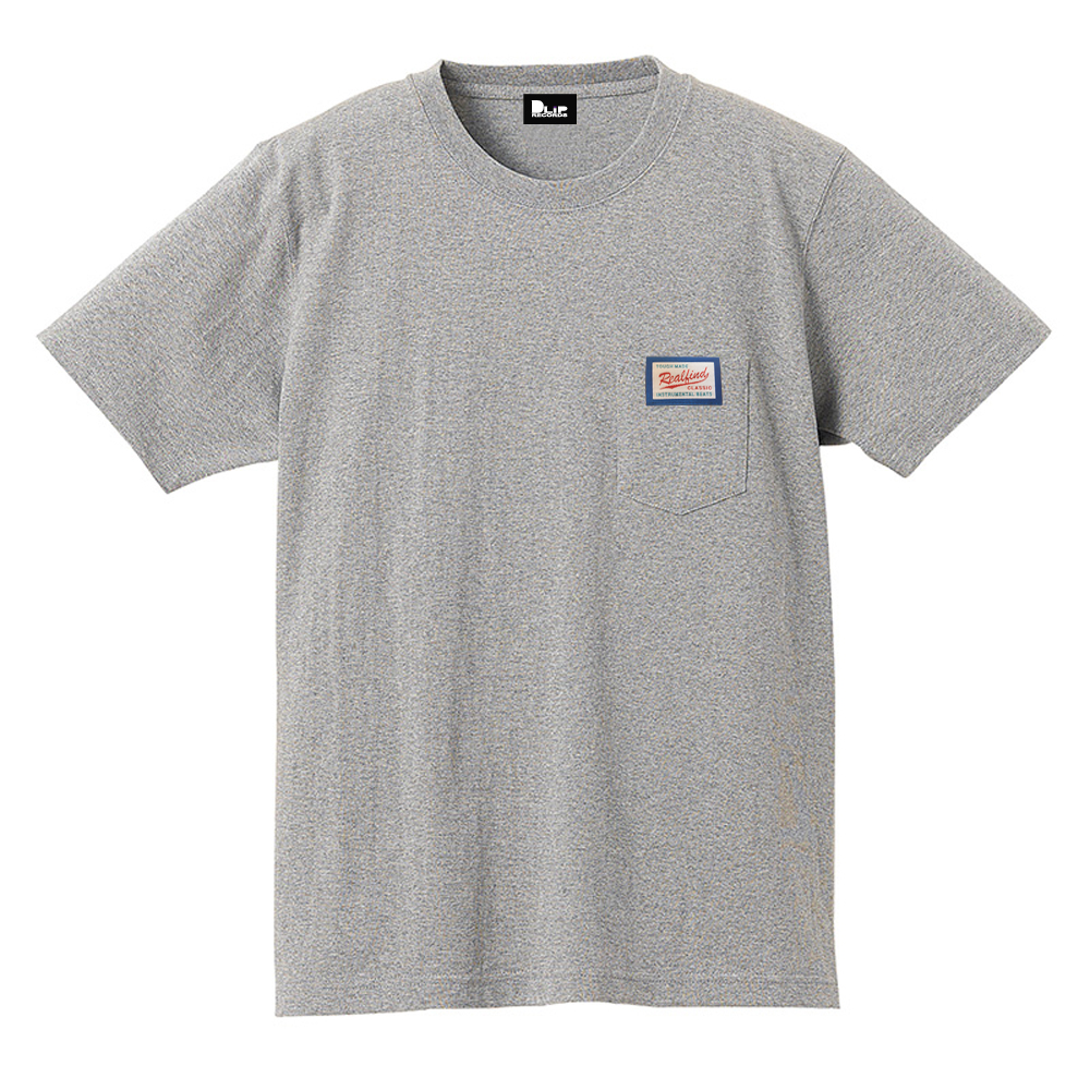 NAGMATIC / REAL FIND vol.3 ORIGINAL TAG POCKET TEE -Gray-