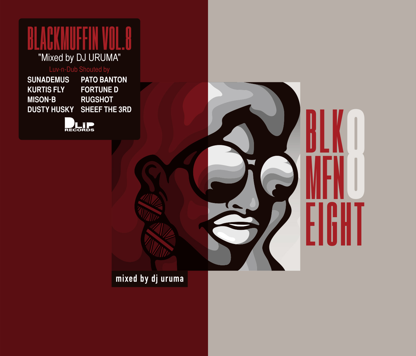 """BLACKMUFFIN vol.8"" Mixed by DJ URUMA"