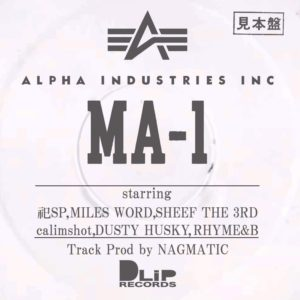 "DLiP RECORDS × ALPHA INDUSTRY presents ""MA-1"""