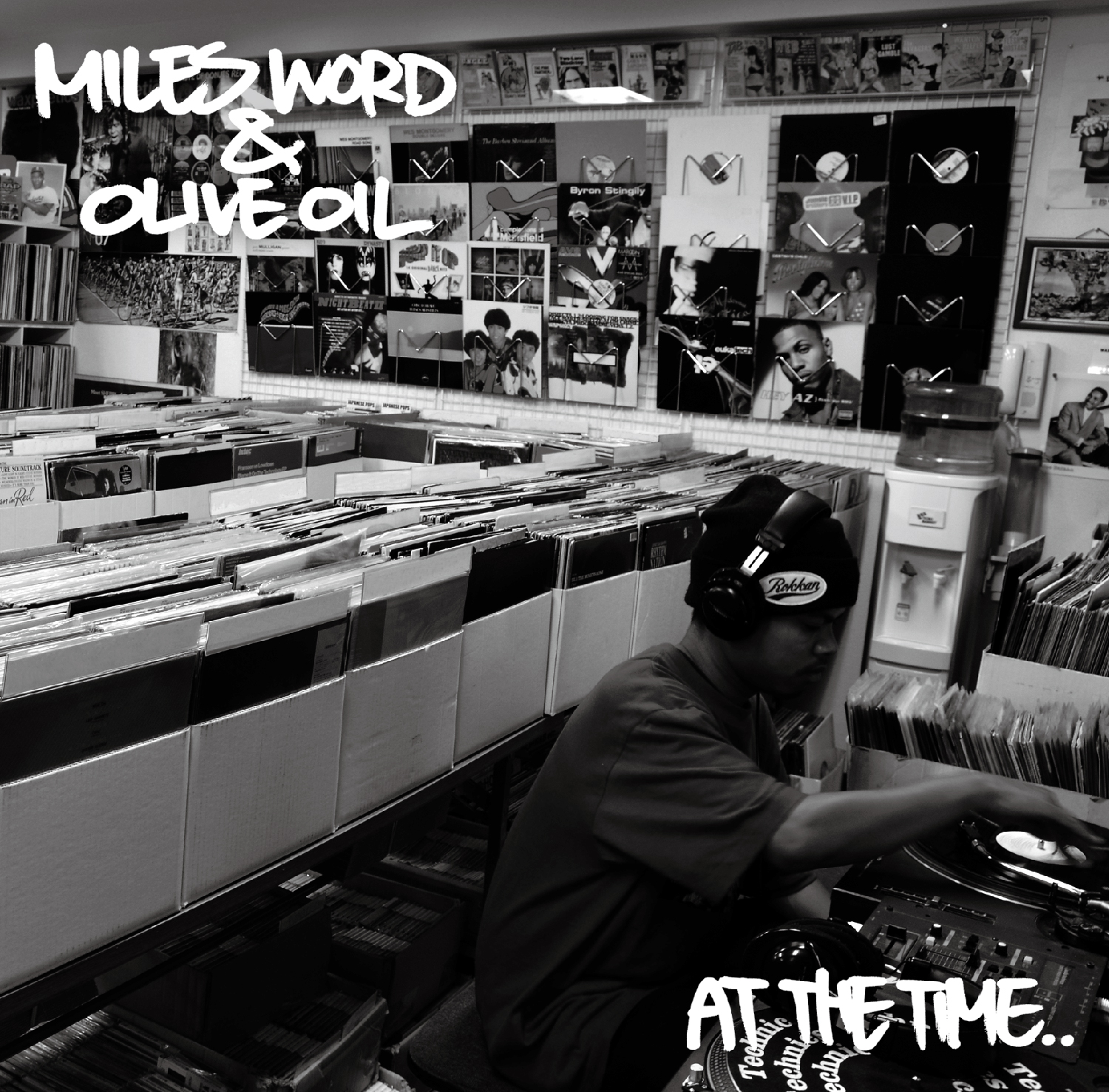 Miles Word × Olive Oil / AT THE TIME